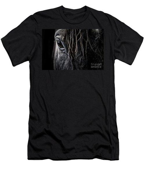A Race Horse Named Tikki Men's T-Shirt (Athletic Fit)