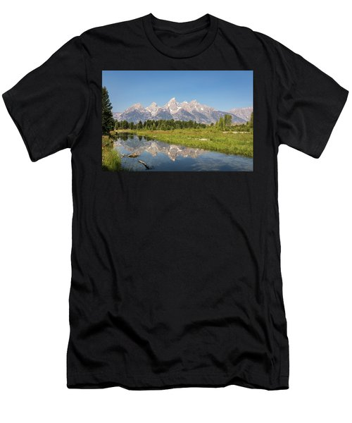 A Reflection Of The Tetons Men's T-Shirt (Athletic Fit)