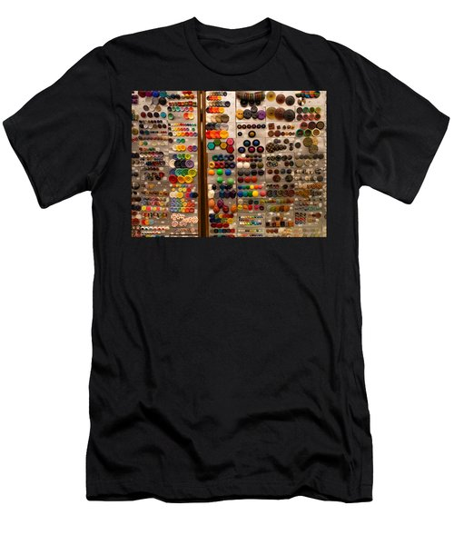 A Riot Of Buttons Men's T-Shirt (Athletic Fit)