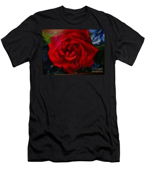 A  Rose Is Men's T-Shirt (Athletic Fit)