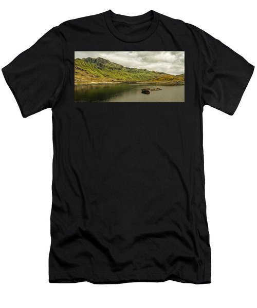 A Rock And A Hard Place Men's T-Shirt (Athletic Fit)