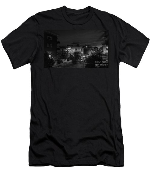 A Roman Street At Night Men's T-Shirt (Athletic Fit)