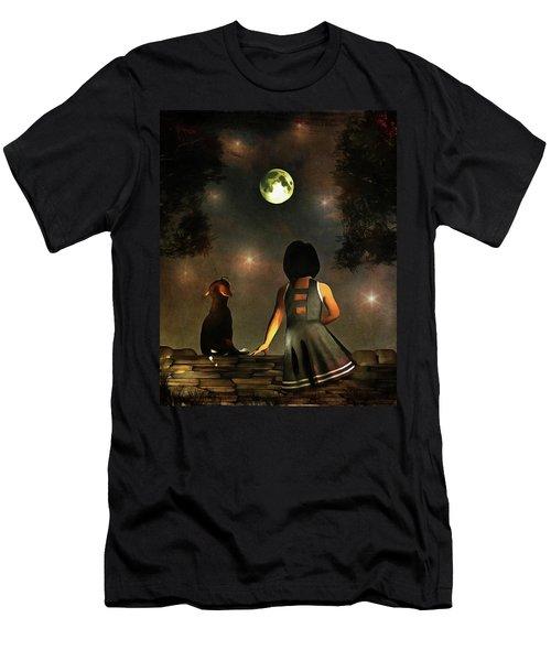 A Romantic Meeting Men's T-Shirt (Athletic Fit)