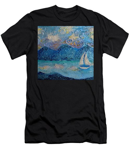 A Sailboat For The Mind #2 Men's T-Shirt (Athletic Fit)