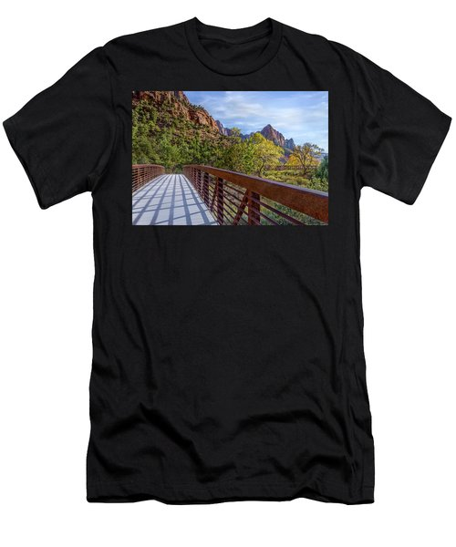 A Scenic Hike Men's T-Shirt (Athletic Fit)