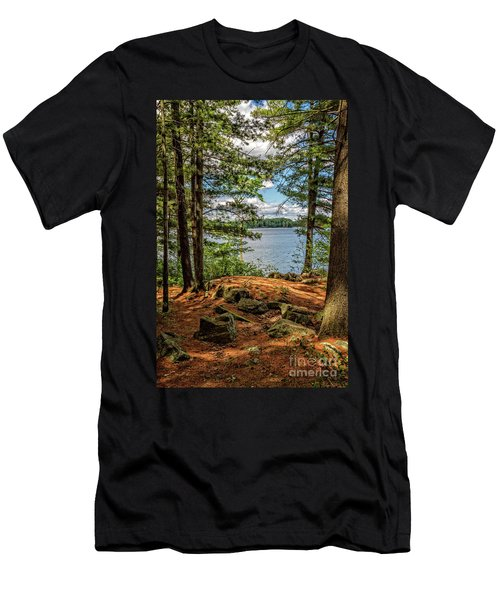 A Secluded Spot Men's T-Shirt (Athletic Fit)