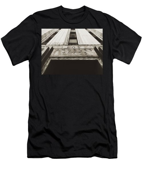 A Sign Of The Times - Vintage Men's T-Shirt (Slim Fit) by Mark David Gerson