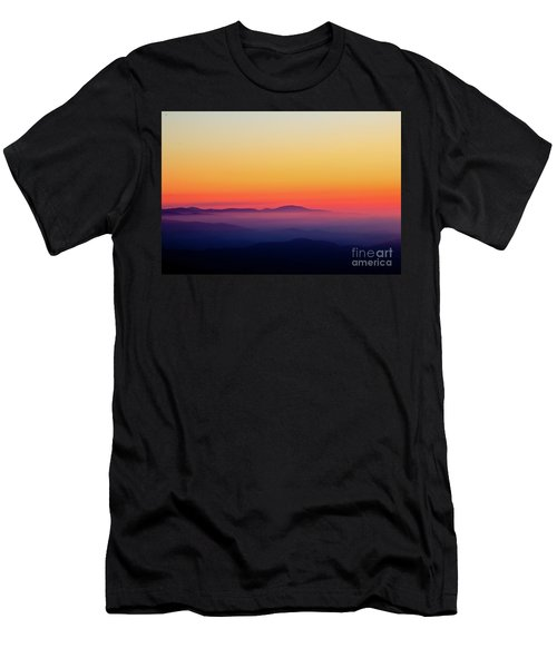 Men's T-Shirt (Slim Fit) featuring the photograph A Simple Sunrise by Douglas Stucky