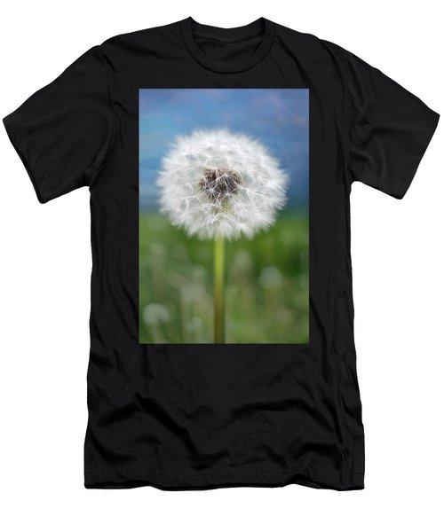 A Single Dandelion Seed Pod Men's T-Shirt (Athletic Fit)