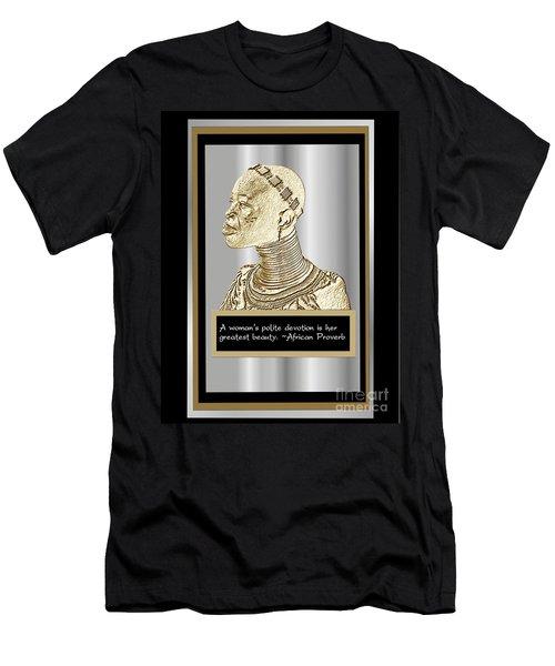 A Sisters Portrait 1 Men's T-Shirt (Slim Fit) by Jacqueline Lloyd