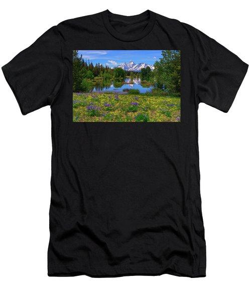 A Slice Of Heaven Men's T-Shirt (Athletic Fit)
