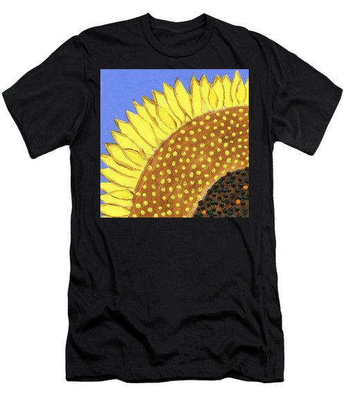 A Slice Of Sunflower Men's T-Shirt (Athletic Fit)