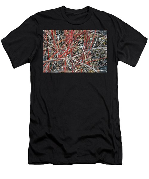 A Small Open Window To Show You My Camouflage Men's T-Shirt (Athletic Fit)