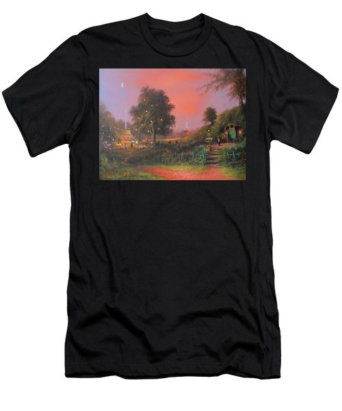 Lord Of The Rings Inspired Artwork. From The Magical Realm Men's T-Shirt (Athletic Fit)