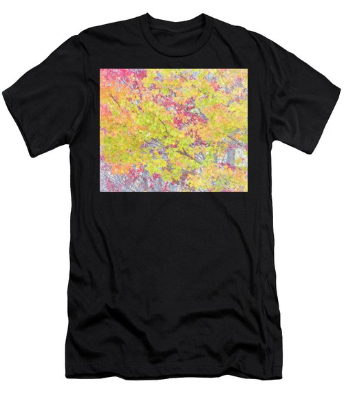 A Splash Of Color Men's T-Shirt (Athletic Fit)
