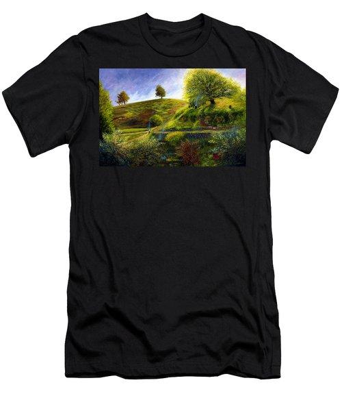 A Spring Morning At Bag End Men's T-Shirt (Athletic Fit)