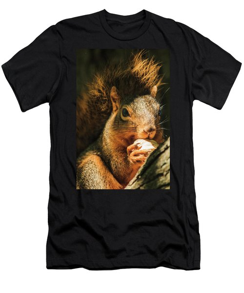 A Squirrel And His Nut Men's T-Shirt (Athletic Fit)