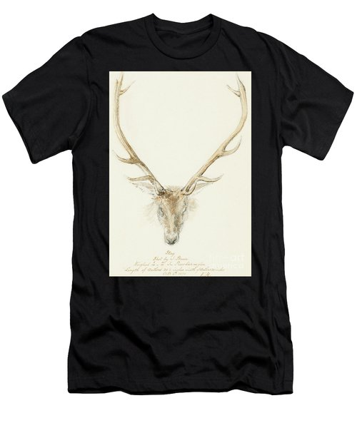 A Stag Shot By John Brown Men's T-Shirt (Athletic Fit)