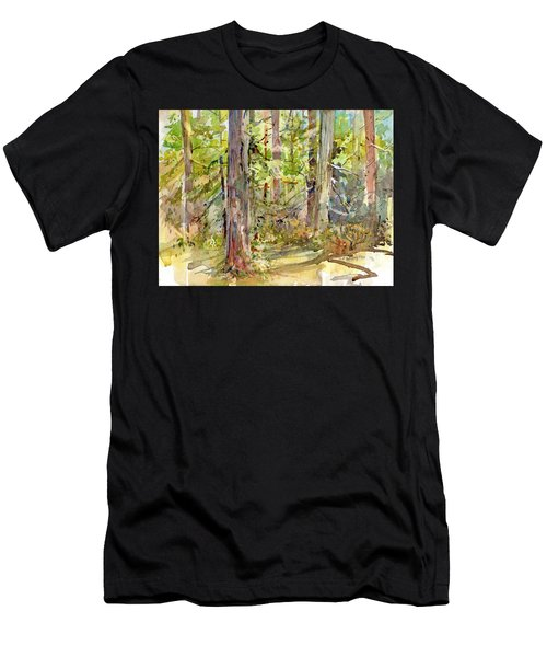 A Stand Of Trees Men's T-Shirt (Athletic Fit)