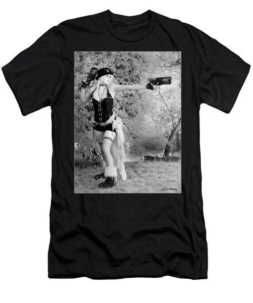 A Steam Punk Heroine Men's T-Shirt (Athletic Fit)