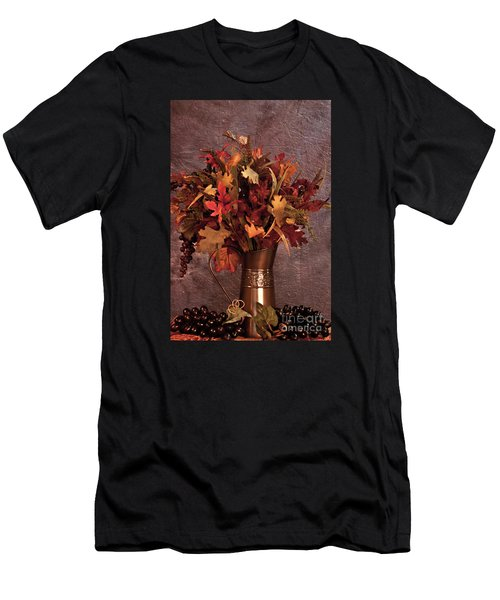 A Still Life For Autumn Men's T-Shirt (Slim Fit) by Sherry Hallemeier