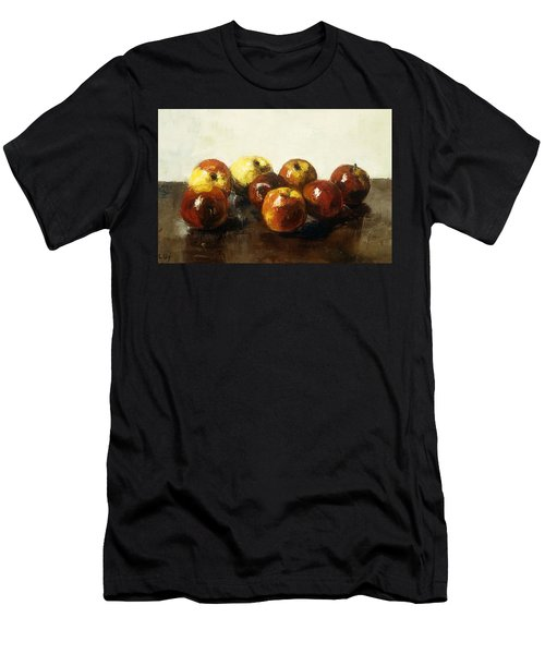 A Still Life Of Apples Men's T-Shirt (Athletic Fit)