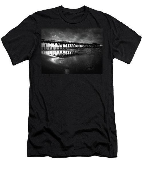 A Storm At Sunrise Men's T-Shirt (Slim Fit) by Kelly Hazel