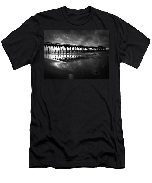 Men's T-Shirt (Athletic Fit) featuring the photograph A Storm At Sunrise by Kelly Hazel