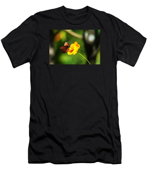 A Study In Orange And Yellow Men's T-Shirt (Athletic Fit)