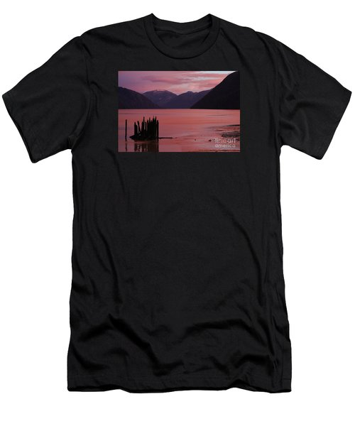 A Sublime September Sunset Men's T-Shirt (Slim Fit) by Stanza Widen