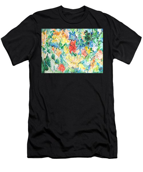A Summer Garden Frolic Men's T-Shirt (Athletic Fit)