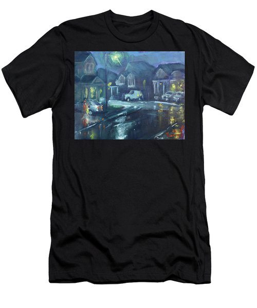 A Summer Rainy Night Men's T-Shirt (Athletic Fit)