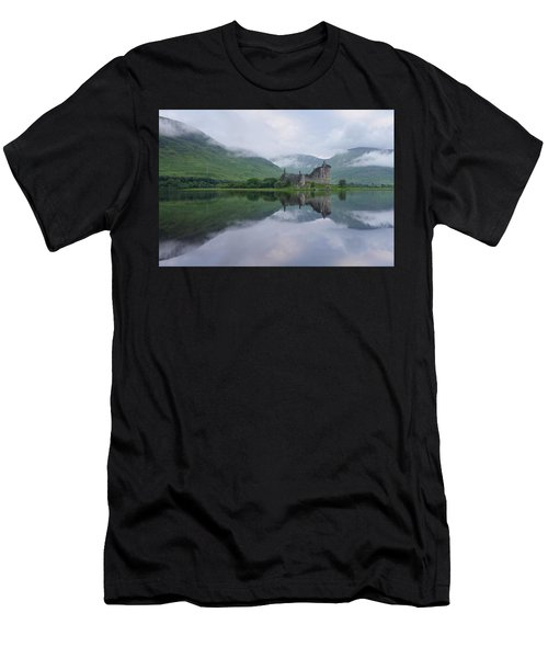 A Summers Morning At Kilchurn Men's T-Shirt (Athletic Fit)