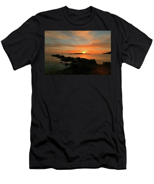 A Sunset In Ibiza Men's T-Shirt (Athletic Fit)