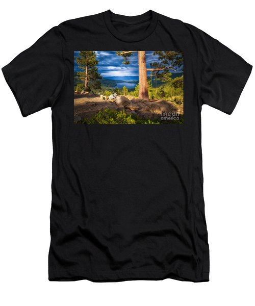 A Swing With A View Men's T-Shirt (Athletic Fit)