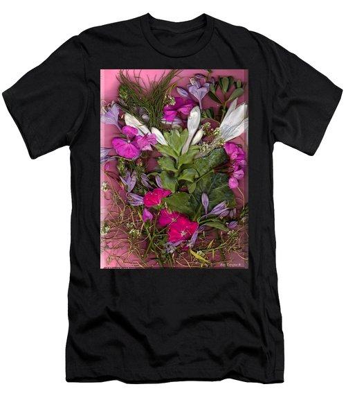 A Symphony Of Flowers Men's T-Shirt (Athletic Fit)