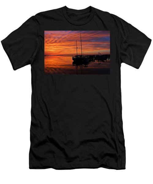 A Tarpon Tryst Men's T-Shirt (Athletic Fit)
