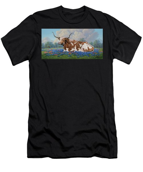 A Texas Welcome Men's T-Shirt (Athletic Fit)