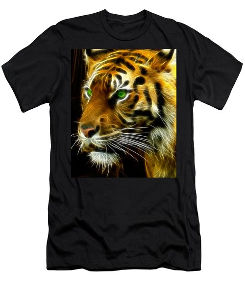 A Tiger's Stare Men's T-Shirt (Athletic Fit)