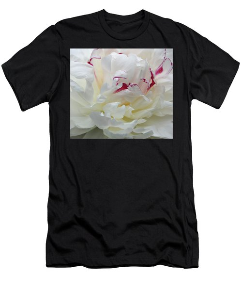 Men's T-Shirt (Slim Fit) featuring the photograph A Touch Of Color by Sandy Keeton