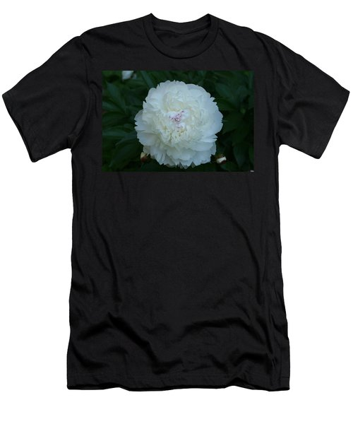 Men's T-Shirt (Slim Fit) featuring the digital art A Touch Of Pink by Barbara S Nickerson
