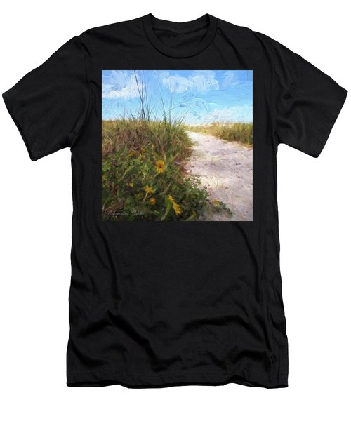 A Trail To The Beach Men's T-Shirt (Athletic Fit)