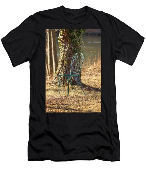 A Tranquil Place To Sit Men's T-Shirt (Athletic Fit)