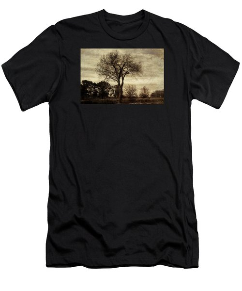 A Tree Along The Roadside Men's T-Shirt (Athletic Fit)