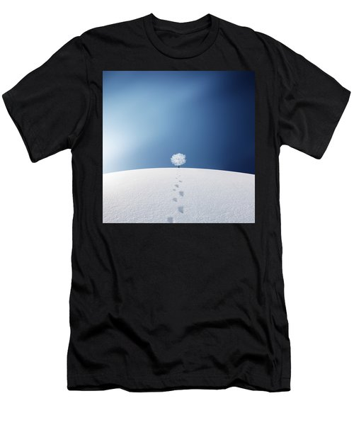 A Tree In The Field Men's T-Shirt (Athletic Fit)
