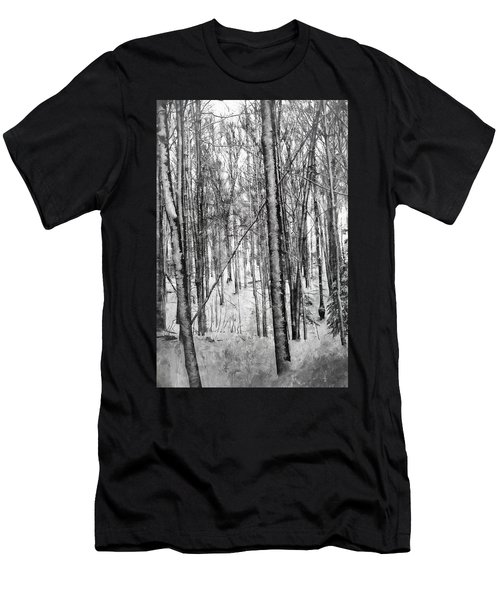 A Tree's View In Winter Men's T-Shirt (Athletic Fit)
