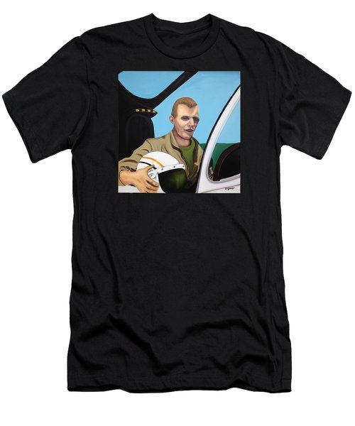 A Tribute To Maj. Lono Men's T-Shirt (Athletic Fit)