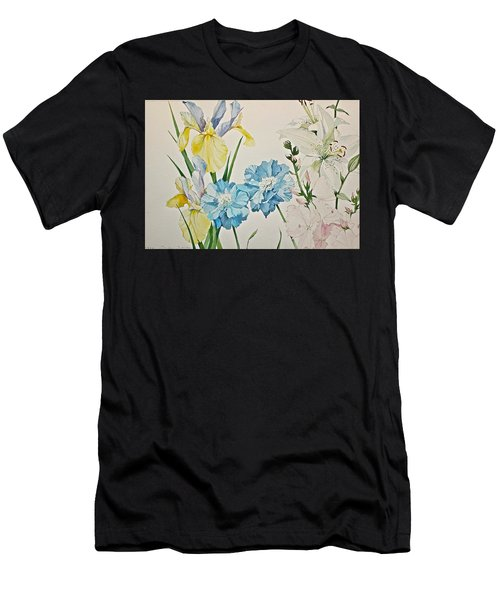 A Variety-posthumously Presented Paintings Of Sachi Spohn  Men's T-Shirt (Athletic Fit)