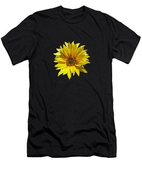 A Vase Of Sunflowers Men's T-Shirt (Athletic Fit)