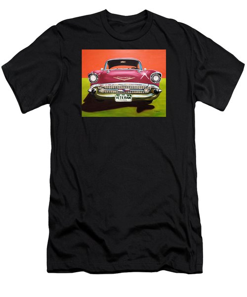 A Veteran's Ride Men's T-Shirt (Athletic Fit)